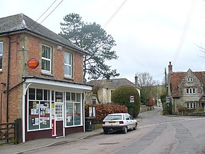 Wylye, Wiltshire - Image: Wylye Post Office geograph.org.uk 1181235