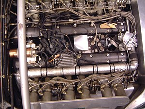 Jaguar XJ13 - Image: XJ13 engine