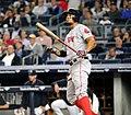 Xander Bogaerts batting in game against Yankees 09-27-16 (2).jpeg
