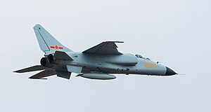 People's Liberation Army Air Force - A PLAAF Xian JH-7 fighter-bomber