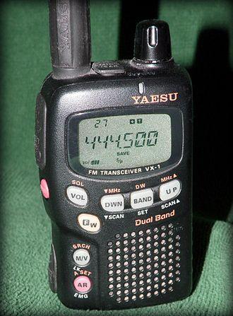 Yaesu VX series - VX-1R