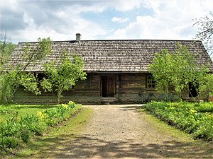 Yanka Kupala - House where Janka Kupala was born (folwark Viazynka, Minsk district, Belarus)