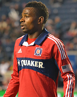 Yazid Atouba playing for the Fire.jpg