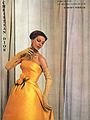 Yellow organdy gown - Dior - Publicity.jpg