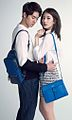 Yoo Yeon-seok and Suzy for Bean Pole accessories Summer 2015 collection 02.JPG