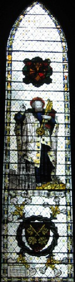 Charles Eamer Kempe - R.W.B. Hornby memorial window at York Minster