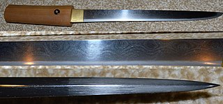 A type of Japanese sword