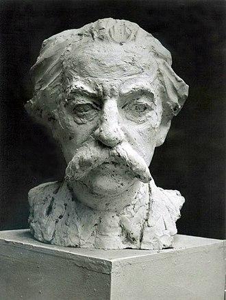 Yuri Lotman - Bust of Yuri Lotman by Lev Razumovsky, 1980