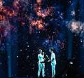 Zala Kralj & Gašper Šantl at the 2019 Eurovision Song Contest Semi-final 1 dress rehearsal (03).jpg