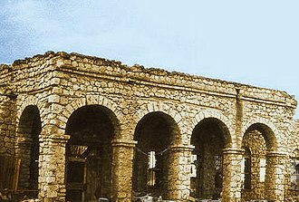 Somali architecture - Ruins of the Sultanate of Adal in Zeila.