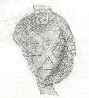 House of Wassenaer - Seal of Dirk I (1226)
