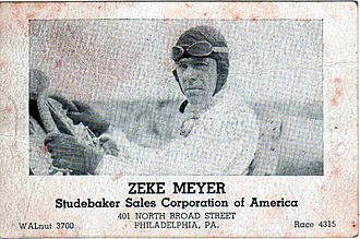 Zeke Meyer - Zeke Meyer Studebaker Business Card
