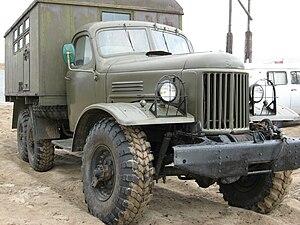 ZIL-157 - Image: Zi L 157 truck in Russia