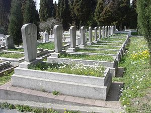 Zincirlikuyu Cemetery - Graves at Zincirlikuyu Cemetery