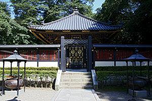 Date Masamune - Masamune's Grave at Zuihōden mausoleum