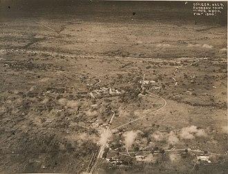 Zungeru - Aerial view of Zungeru town, 1929