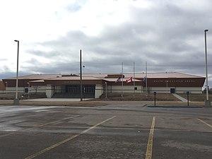 """Thief River Falls, Minnesota - The """"Mini"""" Ralph Englested Arena, Thief River Falls, Minnesota."""