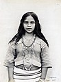 """Tugmena, a Suyoc girl."" (Igorrote girl in the Philippine Reservation, Department of Anthropology, 1904 World's Fair).jpg"