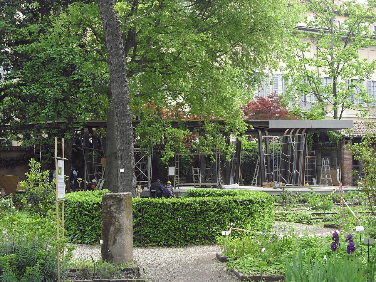 File 12 italy milan design week fuorisalone the for Secret garden designs