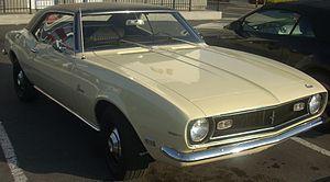 Pony car - 1968 Chevrolet Camaro