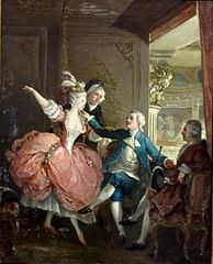 Presentation of a Dancer at the Opera