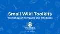 (SWT) Template and Infobox workshop by Jayprakash.pdf