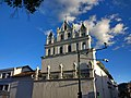 (very nice church, amazing detail) Cuenca,Ecuador Bus Tour, Double Decker,.jpg