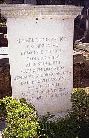 Gadda, Carlo Emilio (1893-1973)