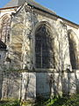 Écouen (95), église Saint-Acceul, collatéral, 3e travée.JPG