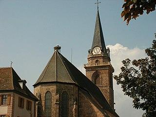 Church in Haut-Rhin, France