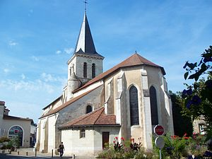 Jaunay-Clan - The church of Saint-Denis, in Jaunay-Clan