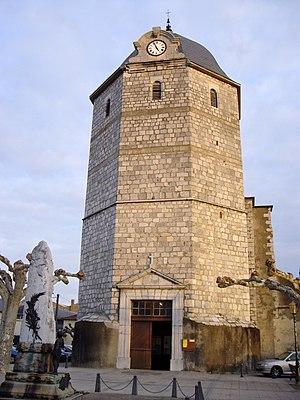 Montréjeau - Image: Église Saint Jean Baptiste de Montréjeau