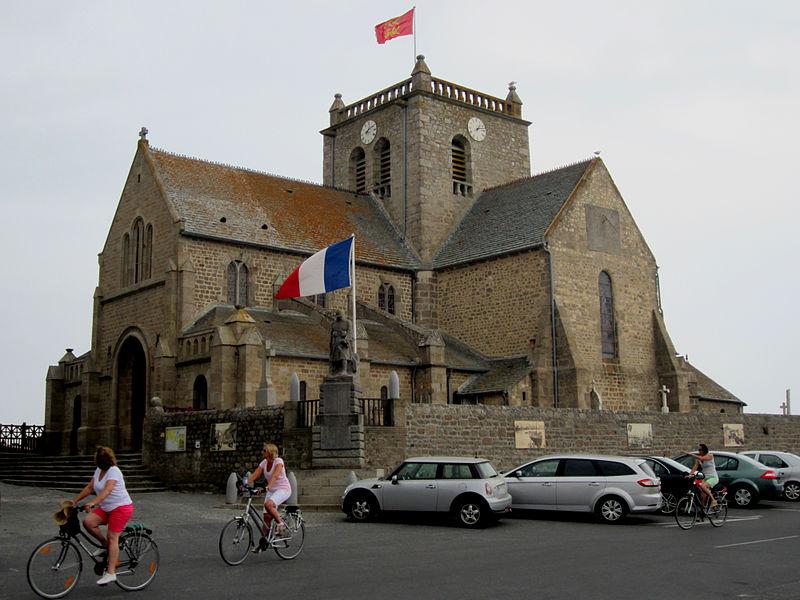église Saint-Nicolas de Barfleur, église fortifié du 17e