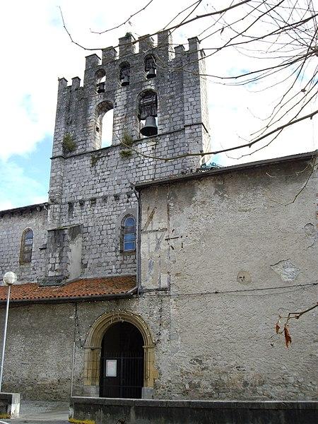 Saint-Girons (Ariège, France): Église Saint-Valier.
