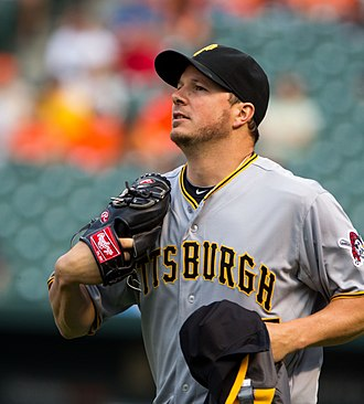 Érik Bédard - Bédard with the Pittsburgh Pirates