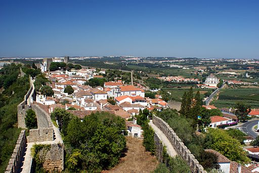 Óbidos City View (wide angle)