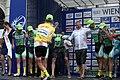 Österreich-Rundfahrt 2013 Wien Siegerehrung Riccardo Zoidl und Team 02.jpg
