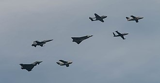 Austrian Air Force - A number of jets used by the Austrian Air Force throughout history