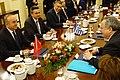 Συνάντηση ΥΠΕΞ, Ν. Κοτζιά, με ΥΠΕΞ Τουρκίας, Μ. Çavuşoğlu (ΥΠΕΞ, 04.03.2016) (25379501452).jpg