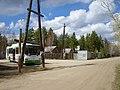 """Автобус № 123 на остановке """"15-й км Вилюйского тракта"""".JPG"""