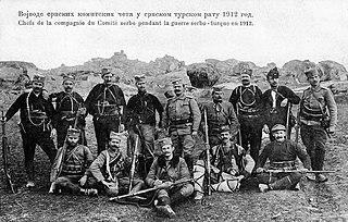 Chetniks in the Balkan Wars