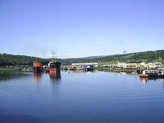 Vanino–Kholmsk train ferry - Vanino port
