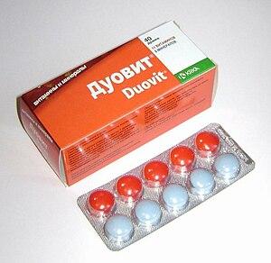 Krka (company) - Vitamin pastilles Duovit