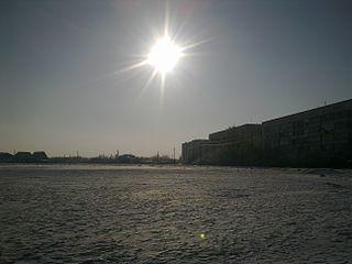 Urban-type settlement in Crimea