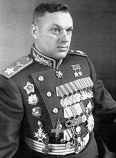 Soviet and Polish military commander