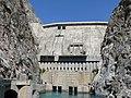 Плотина Токтогульской ГЭС - Toktogul dam.jpg