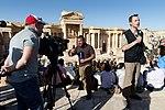 Работа зарубежных СМИ в городе Пальмире во время концерта «С молитвой о Пальмире» (32).jpg