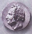Рафал Слізень. Медальён з выявай Тамаша Зана. Першая палова 19 ст.jpg