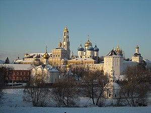 Sergiyev Posad - Trinity Lavra of St. Sergius in Sergiyev Posad