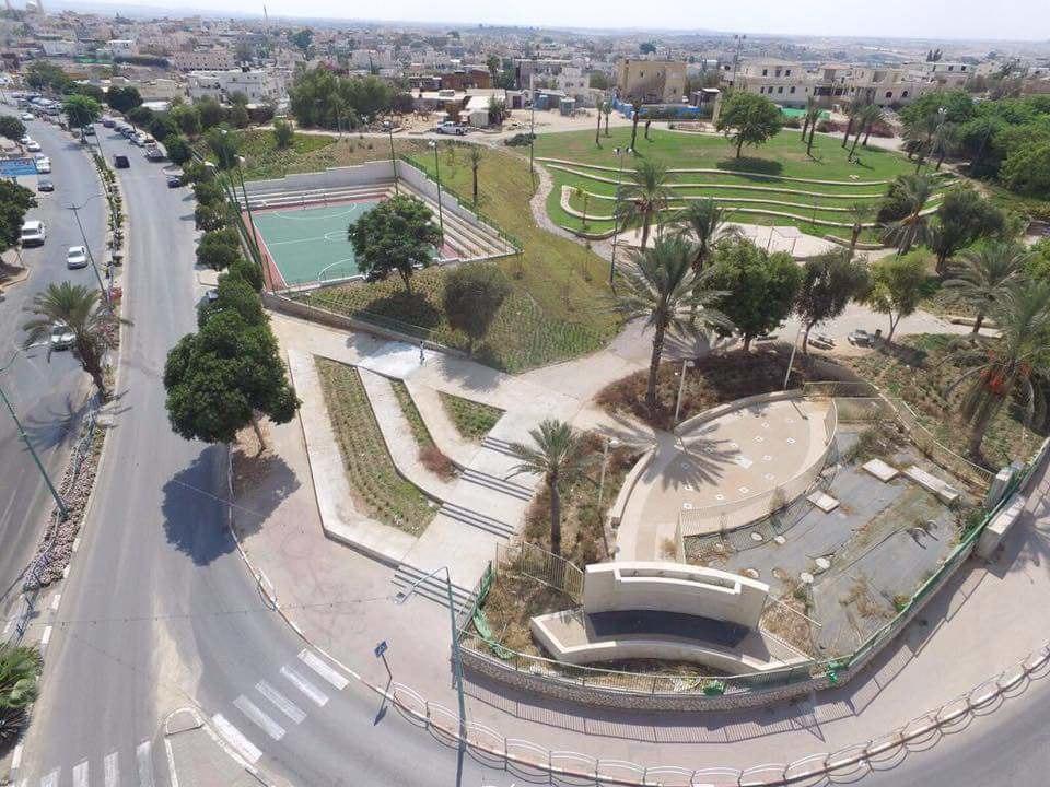 הפארק המרכזי החדש ברהט